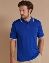 Men's Coolplus® Short Sleeved Tipped  Polo Shirt