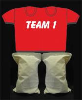 Kinderpaarshirt TEAM1