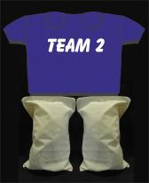 Kinderpaarshirt TEAM2