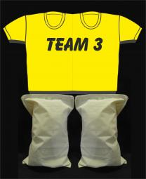 Kinderpaarshirt TEAM3