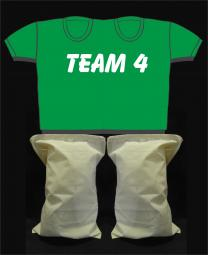 Kinderpaarshirt TEAM4